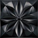 《壁掛け》プラデック ウォール アート フローラル (ブラック)