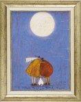《絵画》サム トフト 月夜のふたり