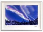 《ジクレー版画》オーロラ爆発001 アラスカ〔オーロラ風景写真家/堀田東〕