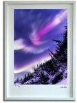《ジクレー版画》オーロラ爆発002 アラスカ〔オーロラ風景写真家/堀田東〕