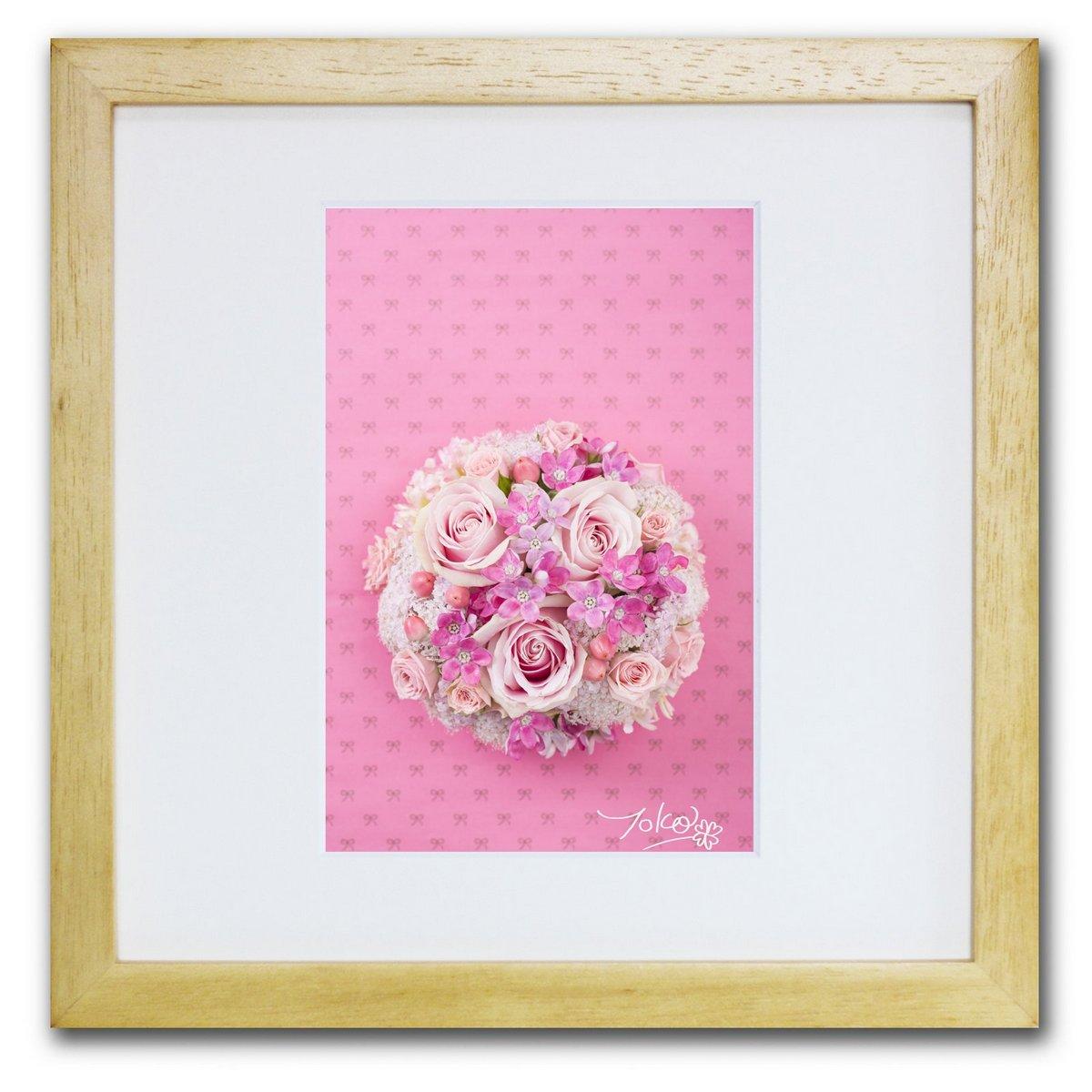 《ジクレー版画》Good fortune_love(ラブ)〔竹内陽子〕/リビングを華やかに彩るインテリア。絵画のようなフラワーフォト