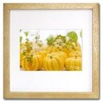 《ジクレー版画》Pumpkins2 (カボチャ2)〔竹内陽子〕/リビングを華やかに彩るインテリア。絵画のようなフラワーフォト
