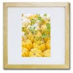 《ジクレー版画》Pumpkins3 (カボチャ3)〔竹内陽子〕/リビングを華やかに彩るインテリア。絵画のようなフラワーフォト
