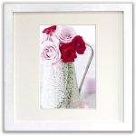 《ジクレー版画》Romantic Roses(ロマンティックローズ)〔竹内陽子〕/リビングを華やかに彩るインテリア。絵画のようなフラワーフォト