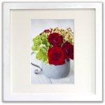 《ジクレー版画》Red Roses(レッドローズ)〔竹内陽子〕/リビングを華やかに彩るインテリア。絵画のようなフラワーフォト