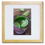 《ジクレー版画》Lime and Green_L(ライム&グリーン_L)〔竹内陽子〕/リビングを華やかに彩るインテリア。絵画のようなフラワーフォト