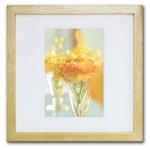 《ジクレー版画》Yellow Ranunculus(イエローラナンキュラス)〔竹内陽子〕/リビングを華やかに彩るインテリア。絵画のようなフラワーフォト
