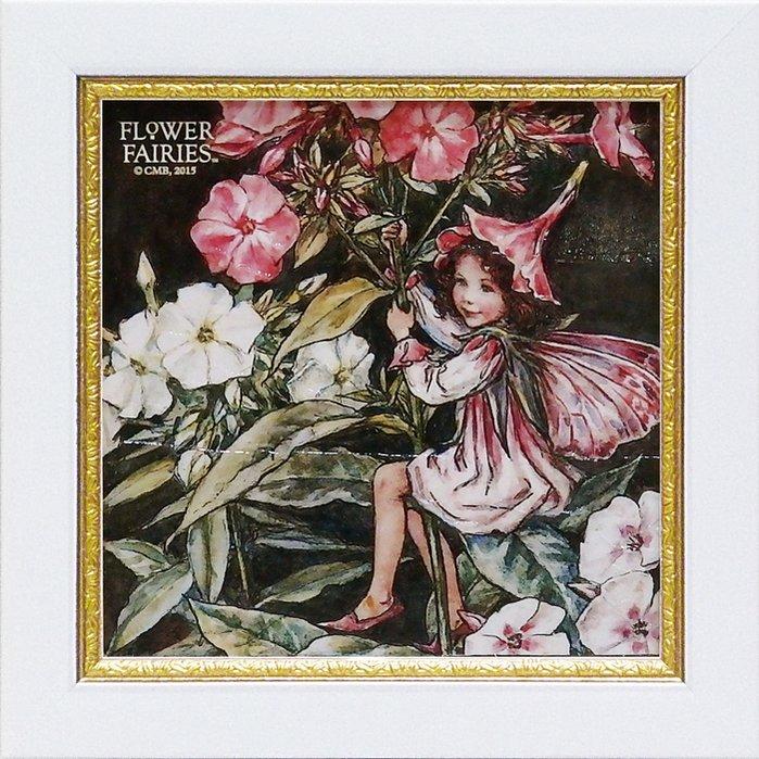 《アートフレーム》【ゆうパケット】フラワー フェアリーズ ミニゲルアート「フロックスフェアリー」