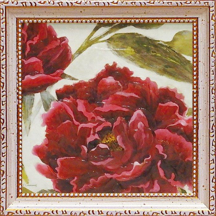 《絵画》【ゆうパケット】ミニゲル アートフレーム ジャーゲン ゴッツクラグ「パッショネイト ガーデン1」