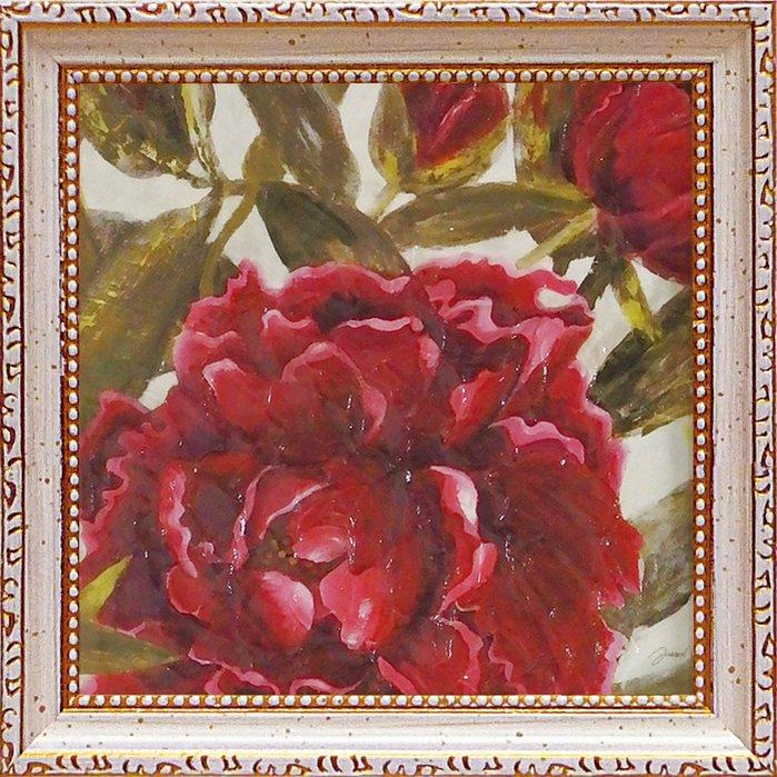 《絵画》【ゆうパケット】ミニゲル アートフレーム ジャーゲン ゴッツクラグ「パッショネイト ガーデン2」