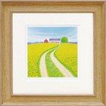 《絵画 壁掛け》くりのき はるみ「春の農場」