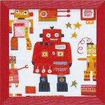 《絵画》アン デイヴィス「レッド ロボット」