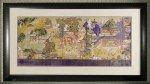 《日本画》和風フレーム「郭子儀の宴」