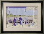 《日本画》葛飾 北斎「五百羅漢寺」