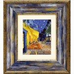 《絵画》ゴッホ「夜のカフェテラス」