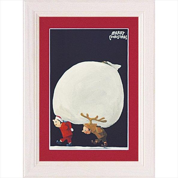 《絵画》【ゆうパケット】武内 祐人「おおきなプレゼント袋」