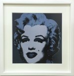 《アートフレーム》Andy Warhol   Marilyn Monroe (Marilyn), 1967 (black)