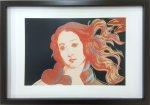 《アートフレーム》Andy Warhol   Details of Renaissance Paintings (Birth of Venus, 1482), 1984