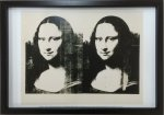 《アートフレーム》Andy Warhol   Double Mona Lisa, 1963