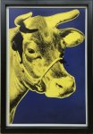 《アートフレーム》Andy Warhol   Cow, 1971 (blue & yellow)