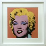 《アートフレーム》Andy Warhol   Shot Orange Marilyn,1964