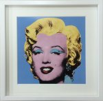 《アートフレーム》Andy Warhol   Shot Blue Marilyn,1964