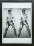 《アートフレーム》Andy Warhol   Double Elvis, 1963