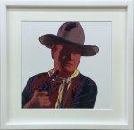 《アートフレーム》Andy Warhol   John Wayne, 1986