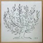 《アートフレーム》Henri Matisse Le platane(Silkscreen)