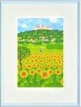 《絵画 壁掛け》はりたつお バンオンハルマの丘