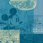 《キャンバスアート》Disney ディズニー キャンバスパネル 50角 レトロ1