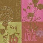 《キャンバスアート》Disney ディズニー キャンバスパネル 50角 レトロ2