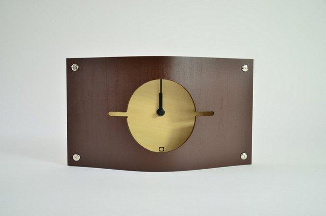 《時計》WALL CLOCK S ブラウン/絵画・壁掛けアートは、リビングや玄関におすすめのインテリア。かわいい壁飾りはお部屋を癒やしてくれそう。プレゼントにも。