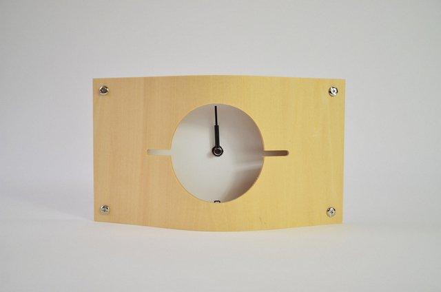 《時計》WALL CLOCK S 白色/絵画・壁掛けアートは、リビングや玄関におすすめのインテリア。かわいい壁飾りはお部屋を癒やしてくれそう。プレゼントにも。
