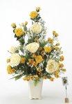 《アートフラワー 造花》レーシーレディ〔テーブルタイプ〕