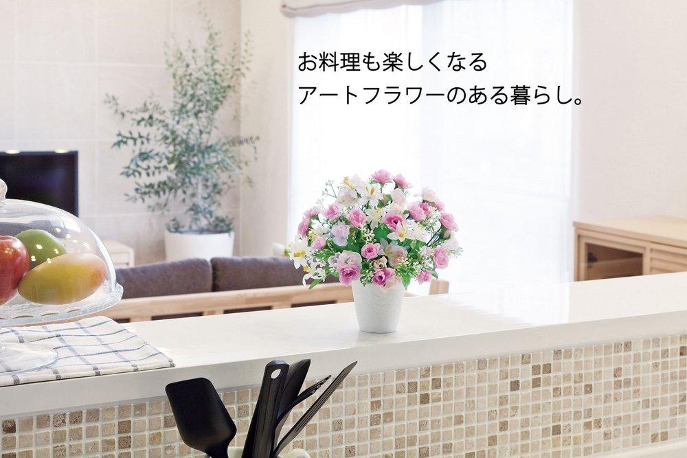 《アートフラワー 造花》ミニフルーツスタンド〔ミニタイプ〕