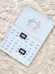 【70%OFF】フレンチ ミニマグネット カレンダー