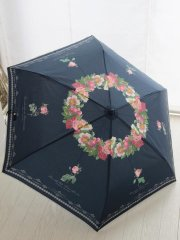 ルドゥーテローズ 折りたたみ傘 ネイビー