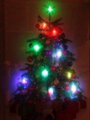 【10%OFF】LEDクリスマスタペストリー