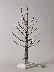クリスマス LEDブランチツリー スリム ブラウン Sサイズ
