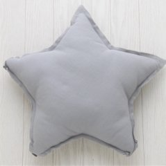 Numero 74 Star Cushions Pastel S (ヌメロ スタークッション パステル) Siver Gray