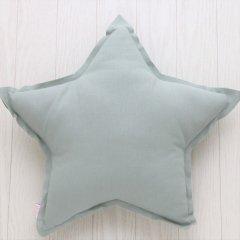 Numero 74 Star Cushions Pastel S (ヌメロ スタークッション パステル) Sage Green
