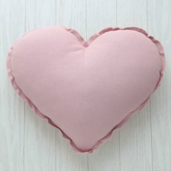 Numero 74 Heart Cushions Pastel S (ヌメロ ハートクッション パステル) Dusty Pink