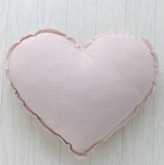 Numero 74 Heart Cushions Pastel S (ヌメロ ハートクッション パステル) Powder
