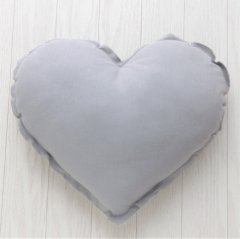 Numero 74 Heart Cushions Pastel S (ヌメロ ハートクッション パステル) Silver