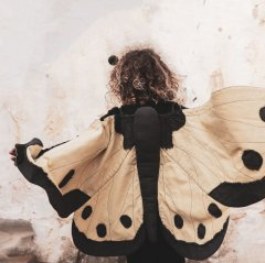Numero74 Lucy Butterfly Wings (ヌメロ74 バタフライウィング)Mellow Yellow