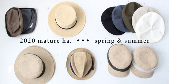 mature ha.2020 spring&summer collection