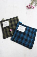 ☆Pot holder BLOCK CHECK (teint)