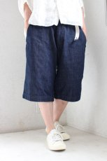 ONE WASH DENIM SHORT PANTS(MASTER&Co.)