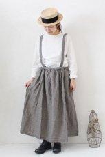 Linen Suspender Skirt(HEAVENLY)